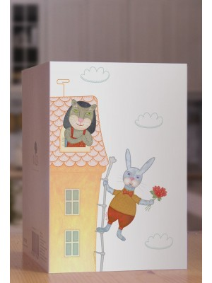 """""""Mr.Hare and Ms.Kitty"""" KZ004"""